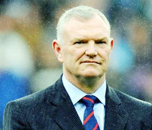 PREPARED TO GET TOUGH: The Football League's chairman Greg Clarke