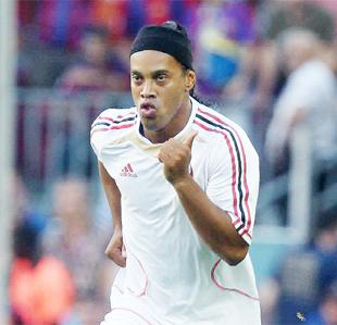 BID: Venky's chairman Mrs Desai says Ronaldinho offer has been made