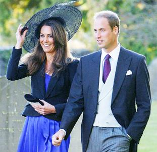 BIG DAY Prince William and Kate Middleton