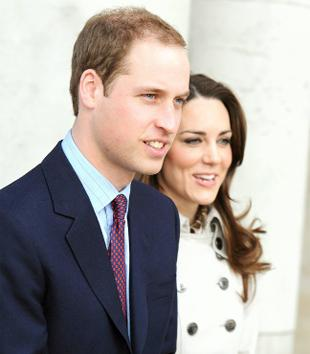 ROYAL VISITORS Prince William and Kate Middleton leaving Belfast City Hall