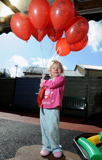 Alice Hall, 4, from Little Cheeky Monkeys nursery in Great Harwood.