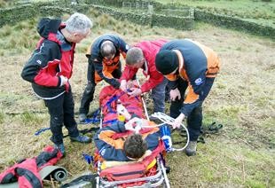 Ribble Valley runner in fell race rescue drama