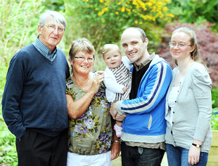 Bereaved East Lancs parents meet family given new life by transplant