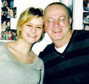 TRAGEDY Tony Harrison with daughter Vicky