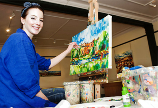 Burnley contemporary artist allows visitors to see into her art