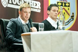 PARTNERSHIP Eddie Howe and Jason Tindall have worked together at Burnley and Bournemouth