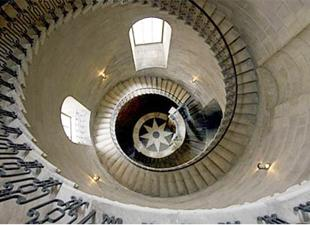 DON'T LOOK DOWN The spiral staircase made by AIM Applications