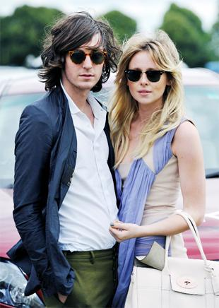 STAR PAIRING Diana Vickers with her partner George Craig