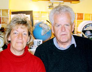 HELPING HAND Charity founders William and Helen Bingley
