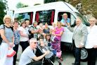 Minibus treat on the menu for East Lancashire children's centre