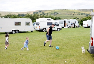 FAMILY FUN Christy Leah says travellers have been unfairly treated by councils and householders