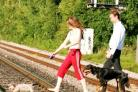IRRESPONSIBLE Youngsters trespassing on railway tracks are putting their lives and those of passengers and staff at risk.