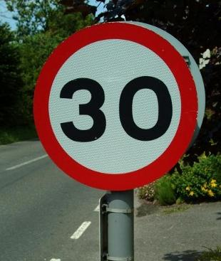 LIMIT Speeding set to be cut