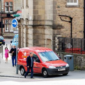 Row over badly parked Post Office vans in Darwen