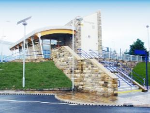 Accrington rail station