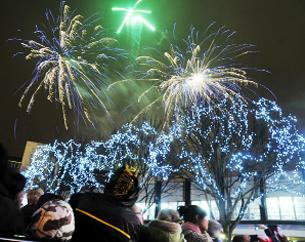 Report: Burnley Christmas Lights switch-on 2011