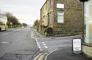 SCENE Burnley Road, Crawshawbooth, where the accident happened