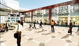 CHANGES How the Charter Walk centre will look