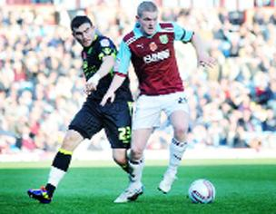 ERROR Clarets defender Brian Easton