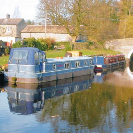 The Leeds and Liverpool canal