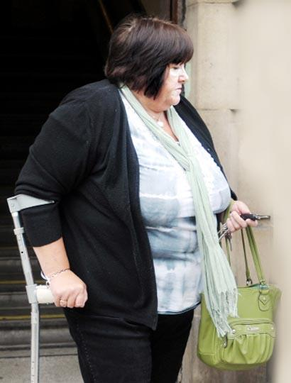 WITHDRAWALS Susan Howard plundered victims' bank accounts