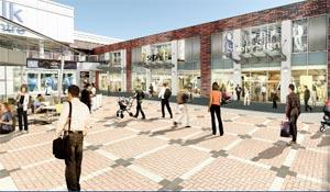 IMPRESSION How Market Square, in Burnley, might look