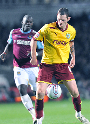 CAPTAIN CALL Burnley skipper Chris McCann is starting to show his real form after his injury problems
