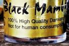 DANGER Black Mamba which can be smoked to obtain a 'high'