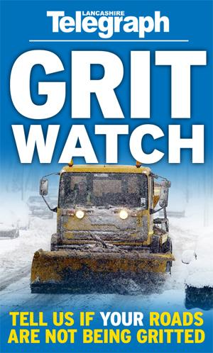 Lancashire Telegraph: Lancashire Telegraph winter Grit Watch campaign re-launces