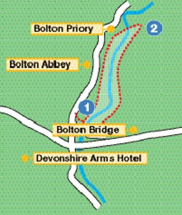 Bolton Bridge and Priory walk