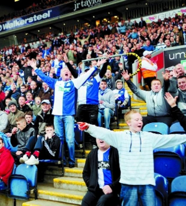 HAVING THEIR SAY Rovers supporters