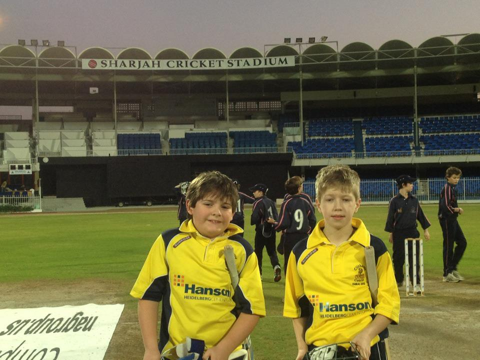 Clitheroe Cobras in the UAE: Day Two and it's a case of spin when you're winning