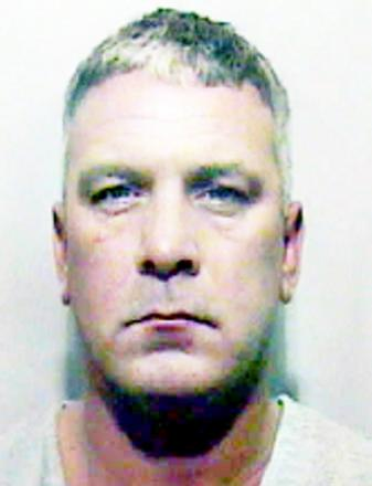 CAR SEARCHED Norrie Doogan was sent to prison for two years