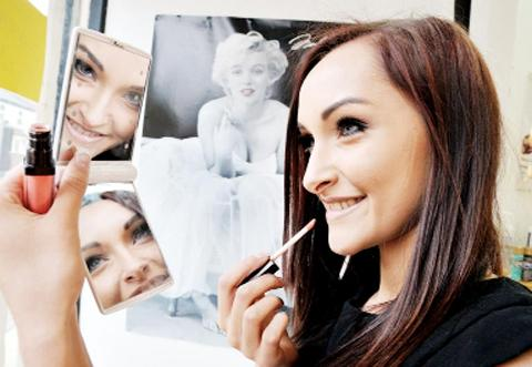 Nicola Stockley has opened new business Pin Up Beauty in Accrington