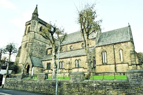 SHUTTING Christ Church, Bacup