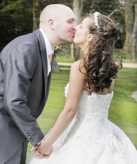 GALLERY: Wedding day joy as Burnley cancer-stricken groom marries sweetheart in dream day