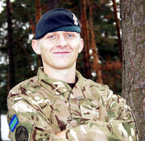 Cpl Jack Stanley . . . 'destined for the top'