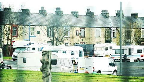 MOVING IN Caravans  off Cog Lane, Burnley