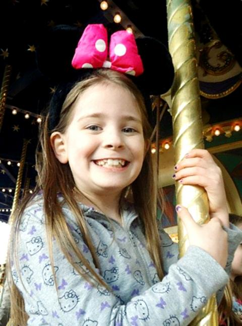 VIGIL Charlotte Neve's family are constantly at her hospital bedside