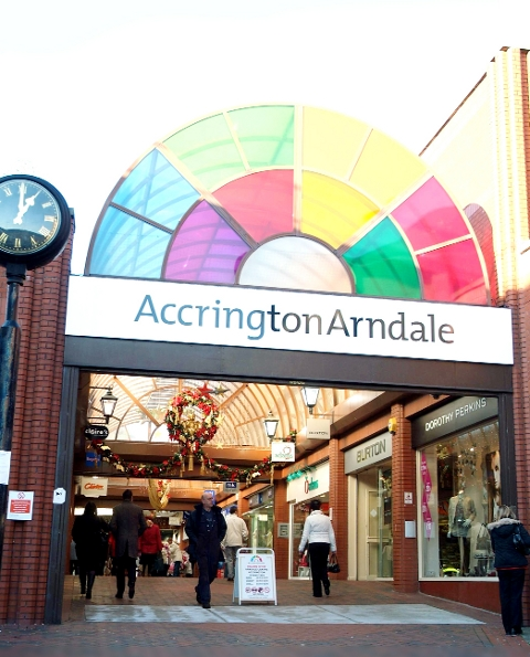 Hyndburn Tory boss blames his opponent for Accrington decline