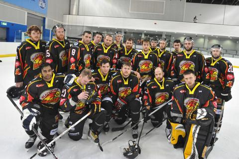 Blackburn Hawks narrowly missed their first trophy.