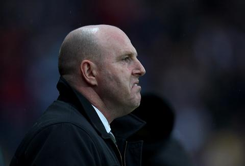 A grim-faced Steve Kean saw his side lose 1-nil to seal their exit from the Premiership.