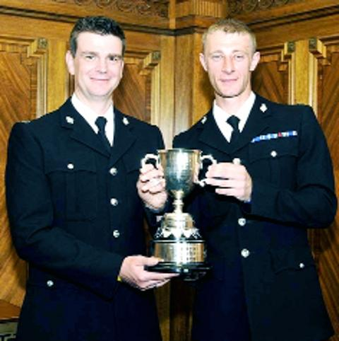 NOMINATED PC Ian McGinty and Marc Rigby