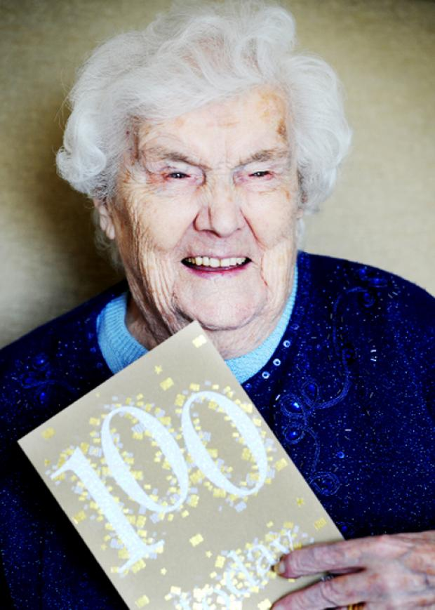 Elsie Aspden turned 100 this week