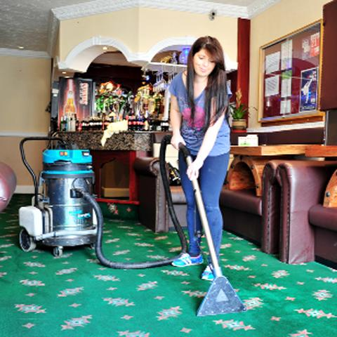 Ina Mitkova cleans up at Sukhi's.