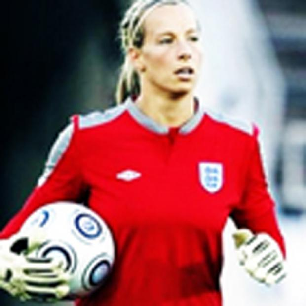 Footballer Rachel Brown