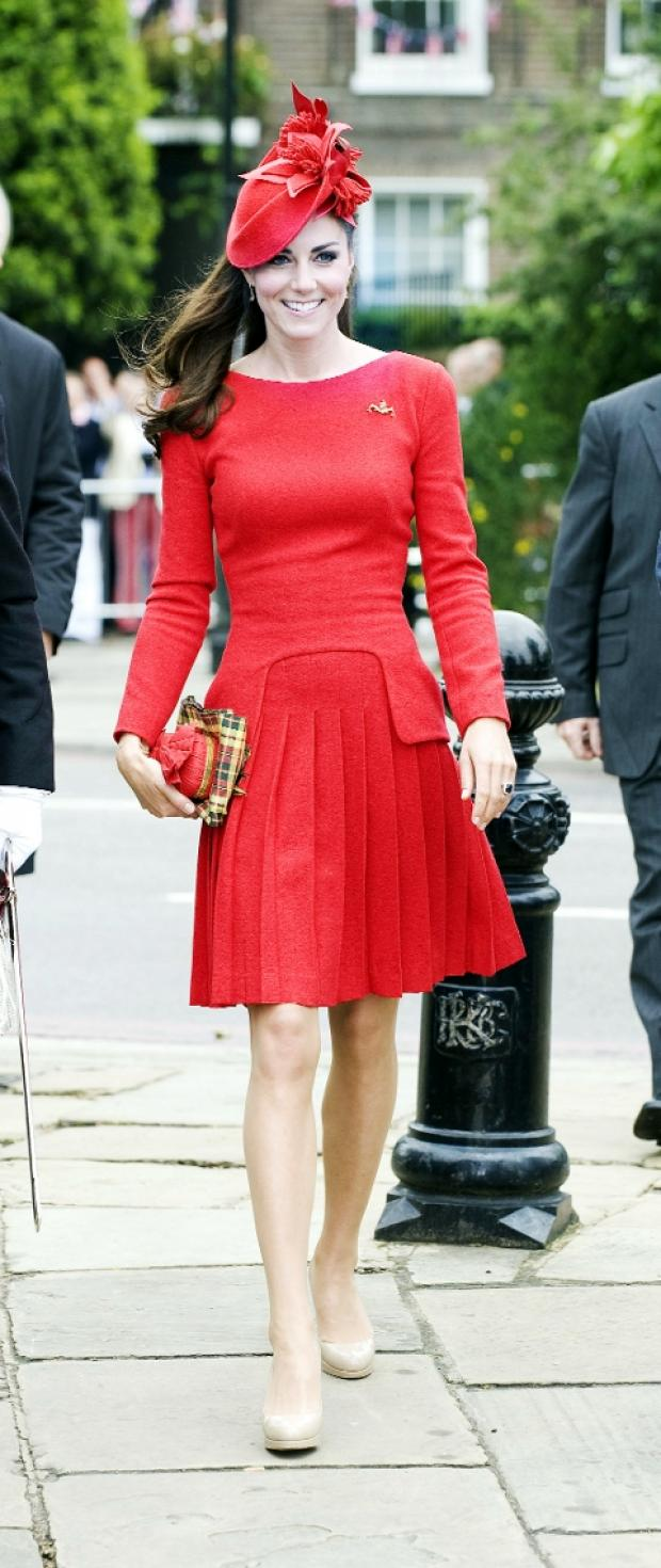 FASHION ICON The Duchess of Cambridge