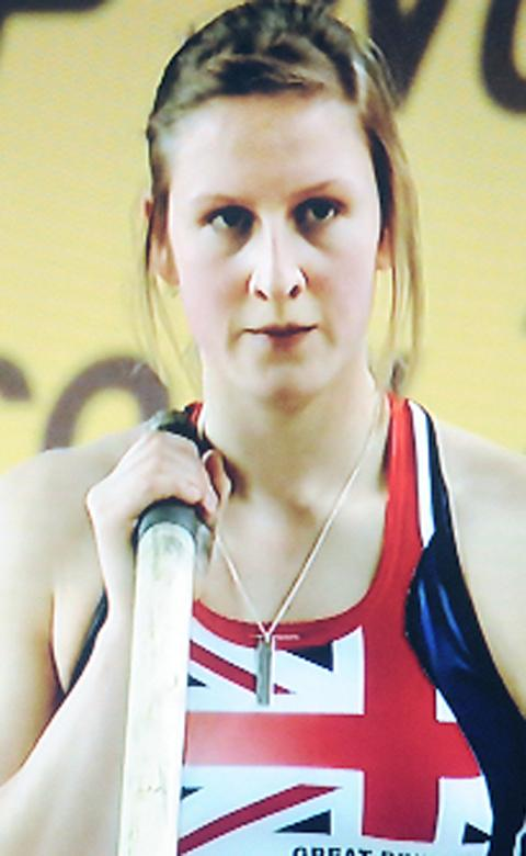 POLE VAULT: Top medal hope Holly Bleasdale