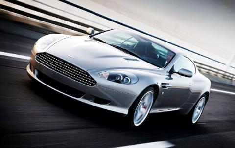 STUNNING An Aston Martin DB9 sports coupe smilar to the one that Mr Osman owns
