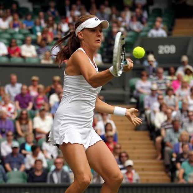 Agnieszka Radwanska was unwell on the eve of her Wimbledon final